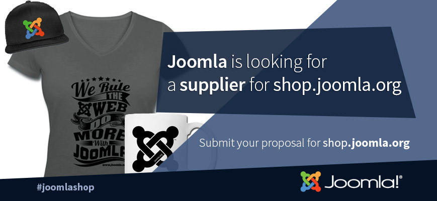 Request for Proposal - The Joomla! Shop 2020