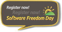 Register your event for Software Freedom Day 2012